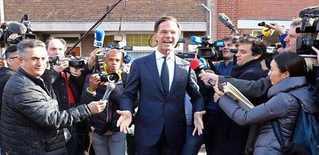 Liberales ganaron elecciones parlamentarias de Holanda