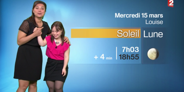 Mélanie Segard una presentadora que rompe todos los récords de sintonía