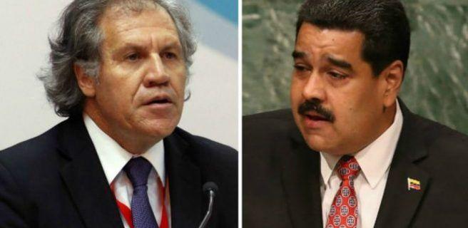 """Maduro tildó de """"inepto"""" a Almagro"""
