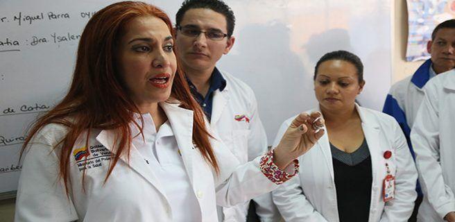 Ministra de Salud: Plan 100% Barrio Adentro abarca 17 estados