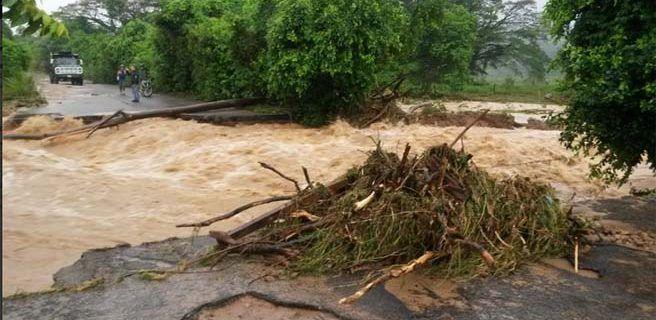 Parte de la troncal 1 en Táchira colapsó tras lluvias