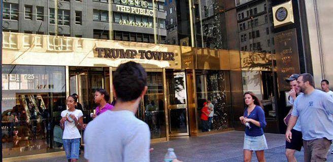 Roban ordenador con información sobre Torre Trump