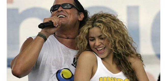 """Shakira y Carlos Vives niegan demanda por plagio de """"La bicicleta"""""""