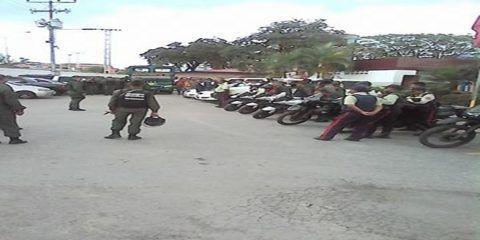 Cuerpos de seguridad le dan un alto al hampa en Ribas