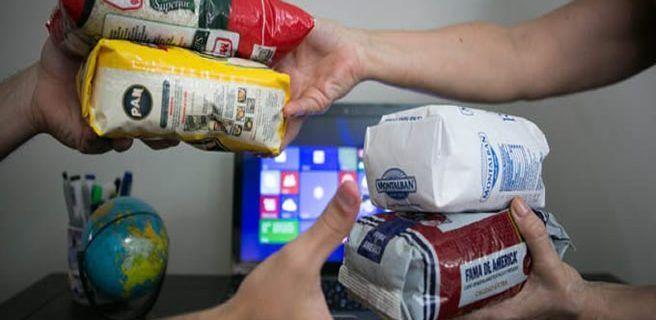 El trueque de alimentos y medicinas por internet gana terreno en Venezuela