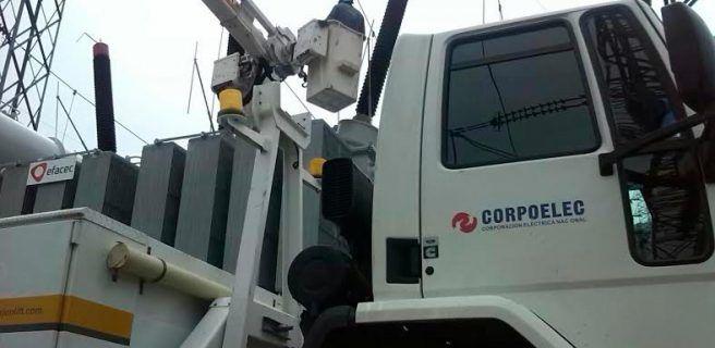 Corpoelec realizó mejoras en red eléctrica de Aragua