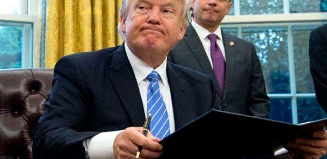 Bloquean nuevo decreto migratorio de Trump