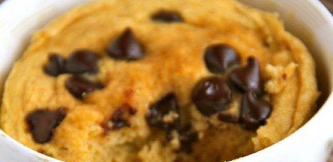 Mugcake de avena y plátano ¡Delicioso y saludable!