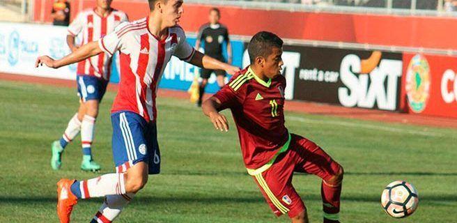 Paraguay vence a Venezuela en el Sudamericano Sub-17