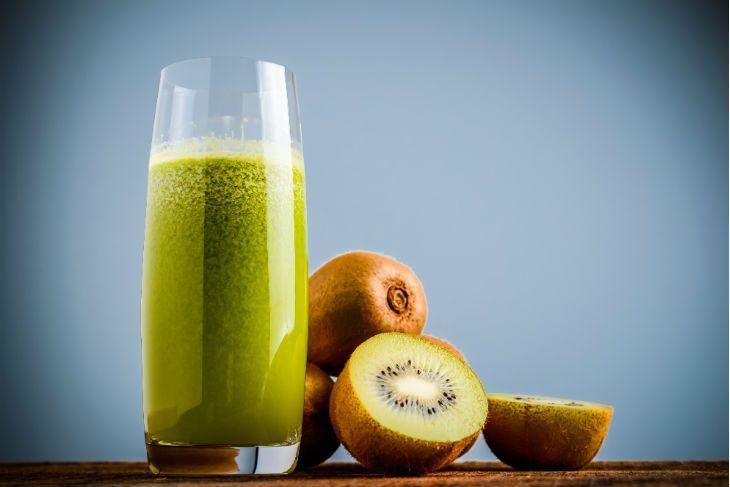 Los batidos verdes son una buena fuente de antioxidantes