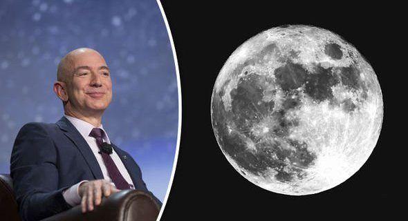 Amazon quiere entregar paquetes en la luna