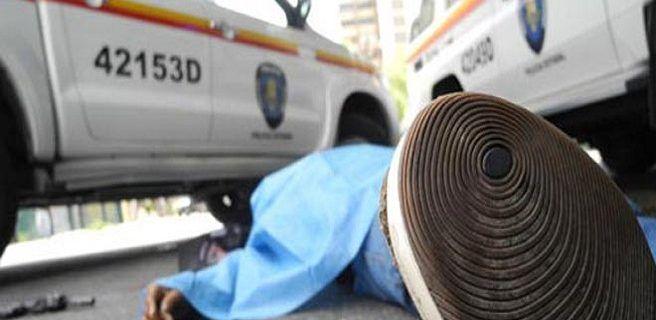 Dos abatidos tras robo frustrado en Maletero