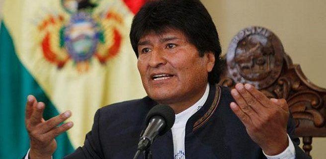 """Evo Morales asegura que """"conspiración"""" contra Maduro es para apoderarse del petróleo"""