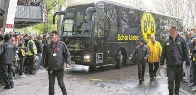 Futbolista del Borussia es herido en explosión
