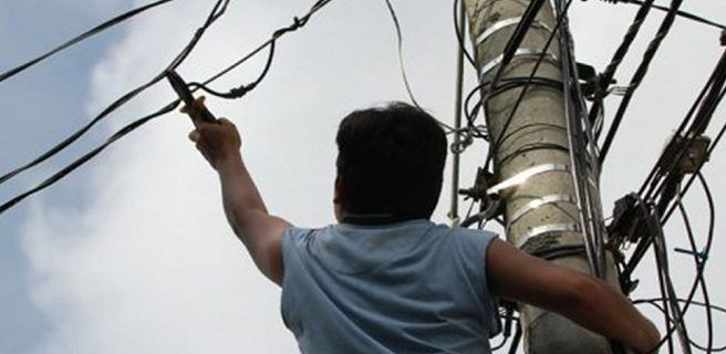 Aumenta robo de cables de Cantv  en Maracay