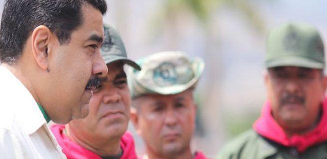 Maduro lidera acto aniversario de la Milicia Nacional Bolivariana