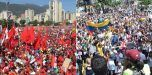Oposición y oficialismo marcharán entre temores de violencia