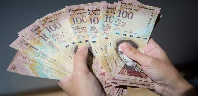 Este jueves finaliza prórroga para validez del billete de Bs. 100