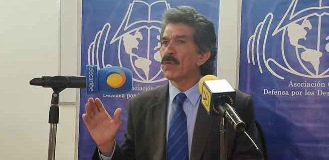 Rafael Narváez: Estado de excepción no puede contrariar garantías constitucionales