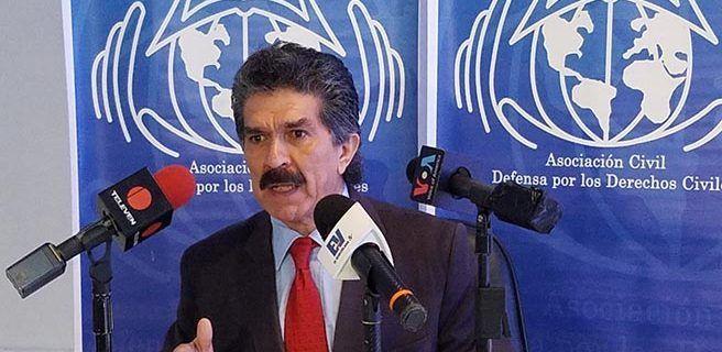 Narvaez: En 35 años como defensor de DDHH nunca vi que lanzaran bombas lacrimógenas desde helicópteros