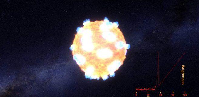 Detectan raro fenómeno que ayudará a medir velocidad de expansión de universo