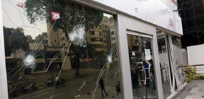 Atacaron sede de la Superintendencia de Precios Justos en Chacao