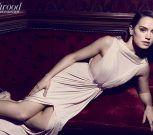 La belleza de Daisy Ridley acapara todos los focos del mundo