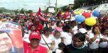 Militancia del PSUV Marchó en Las Tejerías