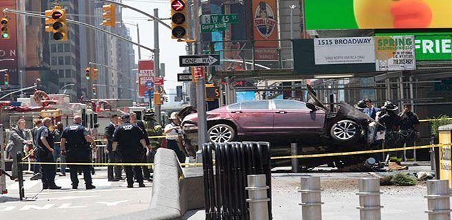 Un muerto y trece heridos por atropello múltiple en Nueva York