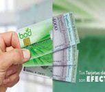 Clientes del BOD podrán retirar hasta Bs. 4000 por avance de efectivo con tarjetas de crédito