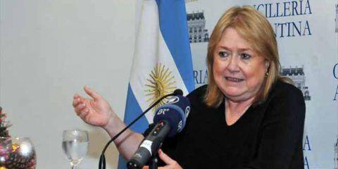 Canciller de Argentina renuncia
