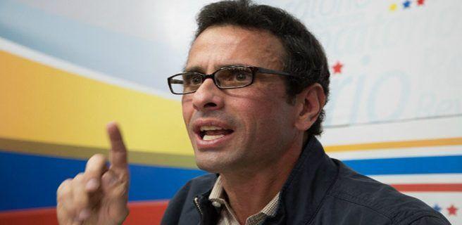 Capriles pide a España investigar activos de funcionarios venezolanos