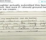 """La niña de 11 años que acusó a su profesora de crímenes de guerra y cuyo padre no sabía """"si castigarla o comprarle un helado"""""""