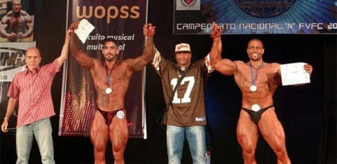 Anzoátegui destacó en Nacional de Físico Culturismo y Fitness