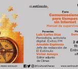 """Foro """"Comunicaciones para tiempos sin internet"""" se realizará este viernes en el Centro Cultural Chacao"""