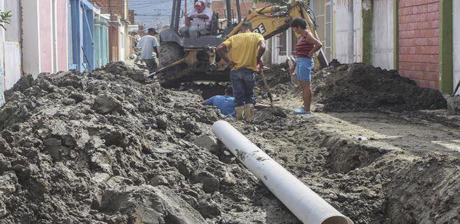 Invierten Bs. 34 millones en sustitución de tuberías en Linares Alcántara