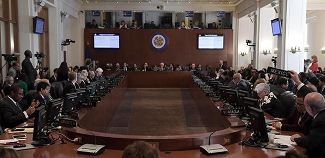 OEA designará fecha para reunión de cancilleres que tratará situación de Venezuela