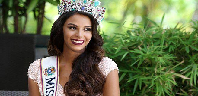 Miss Venezuela pidió la unión de los venezolanos
