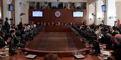 Presentan ante la OEA dos proyectos de resolución sobre situación en Venezuela