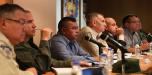 Cuerpos de seguridad coordinan acciones para garantizar el orden público en Mérida