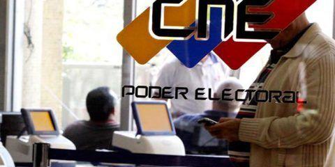 CNE publica listados de postulaciones admitidas a la Constituyente