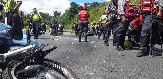 Dos muertos tras protesta en Caracas