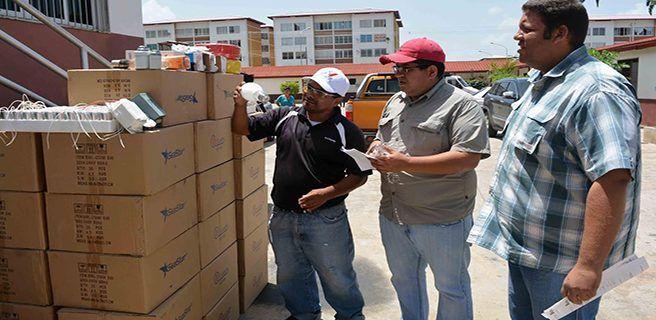 Arranca Plan de Recuperación del alumbrado público en Ribas