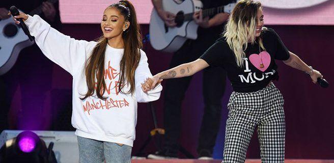 Ariana Grande canta en Manchester en homenaje a las víctimas del atentado