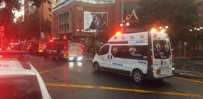 Tres muertos tras atentado en Bogotá