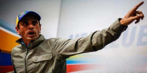 Capriles pide a Fiscal General mostrar expedientes de delitos de funcionarios
