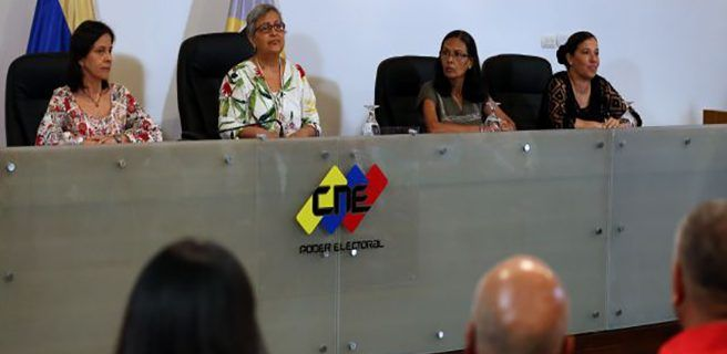 Ratificadas rectoras del CNE