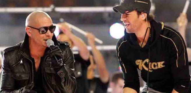 Enrique Iglesias y Pitbull triunfaron como reyes ante un público de puro Miami