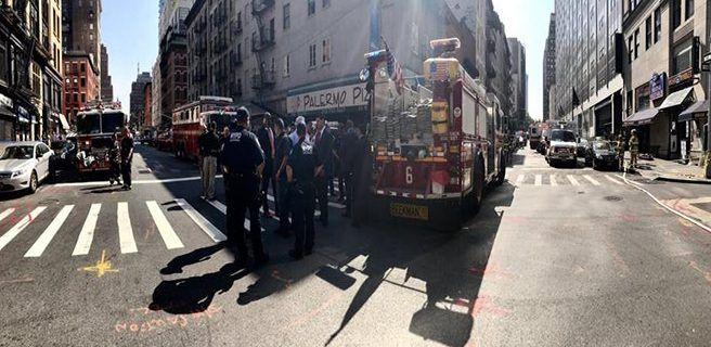 Explosión en Nueva York deja 35 heridos