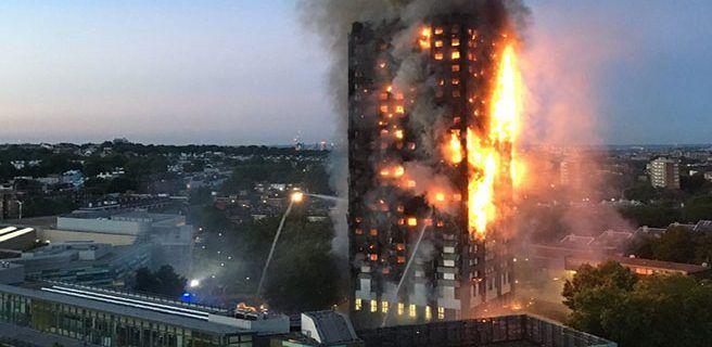 12 muertos tras incendio en Londres